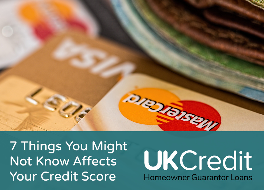 7 Things You Might Not Know Affects Your Credit Score